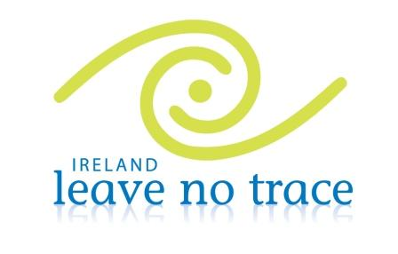 Leave No Trace Ireland Logo Paddle and Pedal