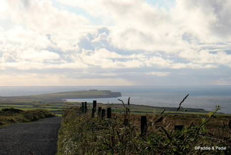Views from cycling tour to Downpatrick head co. mayo