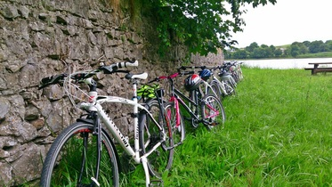Bikes for hire in Ballina monasteries of the moy